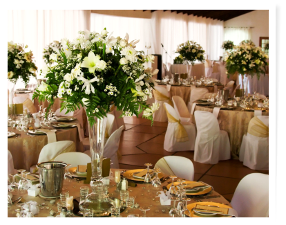 catering service table